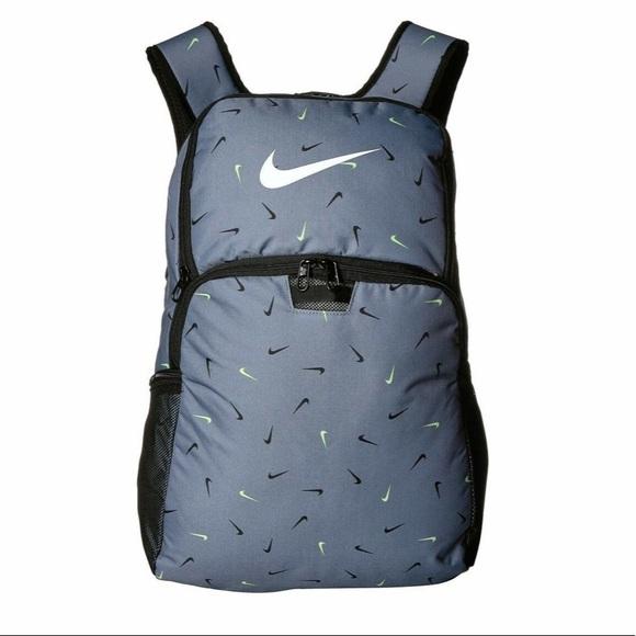 Nike Brasilia Training Backpack XL Swoosh Print
